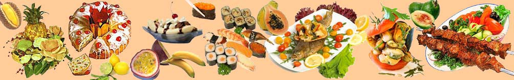 История пищевых продуктов. Страничка гурмана. Рецепты вкусные и необычные