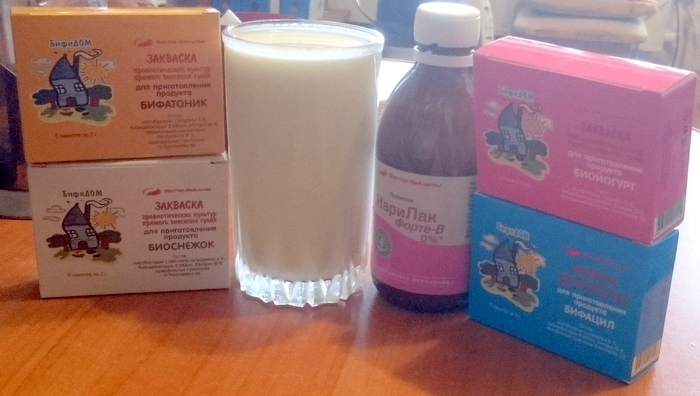 Кисломолочные напитки из новосибирских заквасок