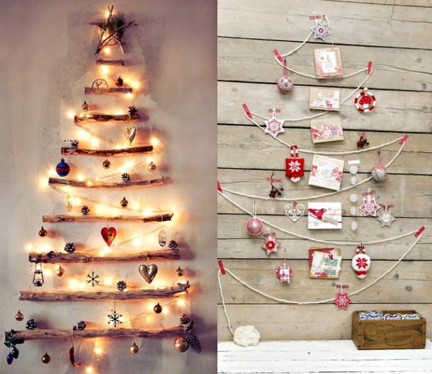 6 оригинальных альтернатив новогодней елке