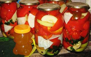 Венгерский салат на меду