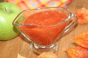 Томатно-яблочный соус