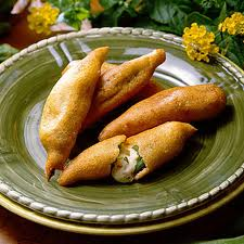 пирожки из бамии (окры)