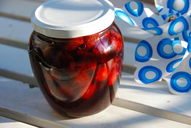 Варенье клубничное с лавандой