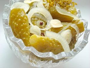 Огурцы маринованные с лимонной кислотой