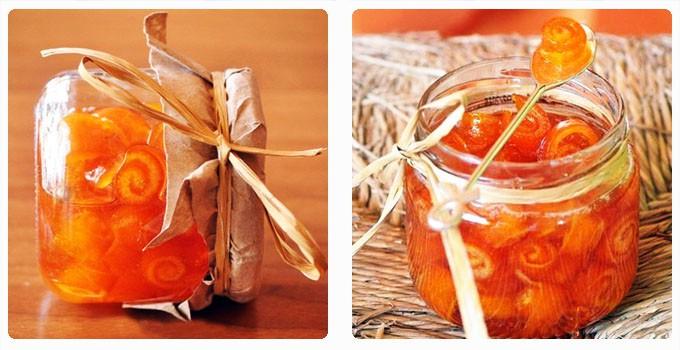 Апельсиновое варенье Завитушки