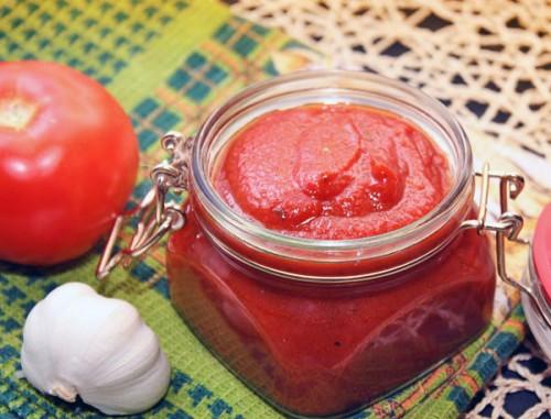 Кетчуп ароматный домашний