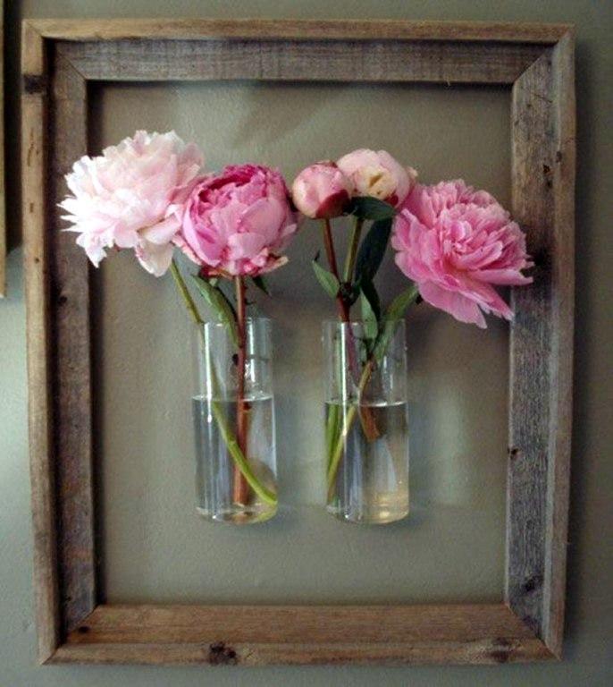 Цветы своими руками для интерьера